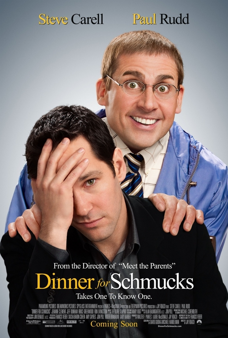 Dinner for Schmucks poster, © 2010 Universal Pictures International