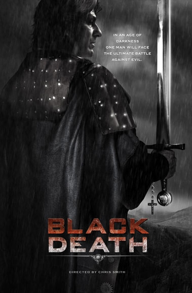 Black Death poster, copyright in handen van productiestudio en/of distributeur