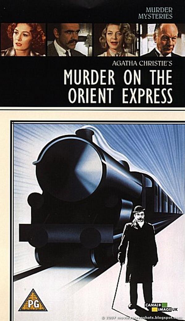 Murder on the Orient Express poster, copyright in handen van productiestudio en/of distributeur