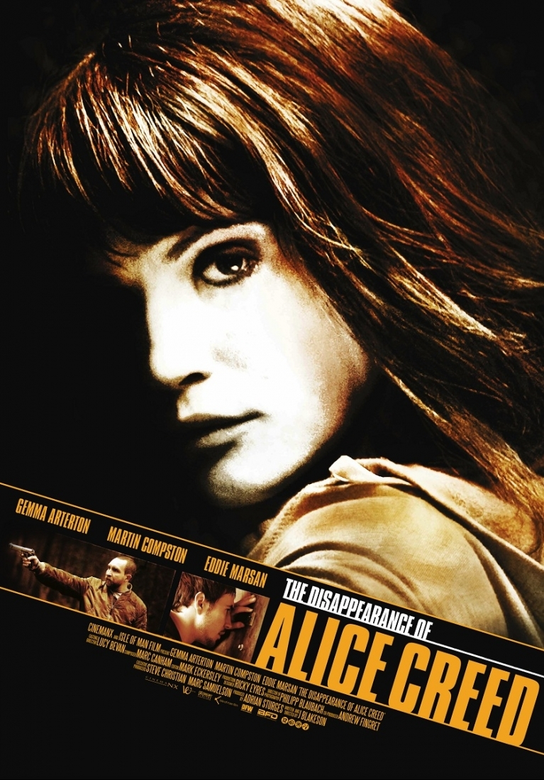 The Disappearance of Alice Creed poster, © 2009 Cinemien