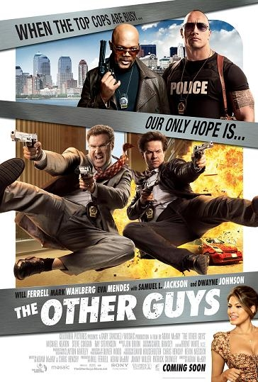 The Other Guys poster, © 2010 Sony Pictures Releasing