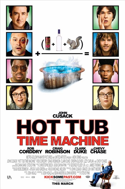 Hot Tub Time Machine poster, copyright in handen van productiestudio en/of distributeur