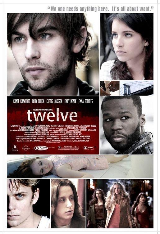 Twelve poster, © 2010 Benelux Film Distributors
