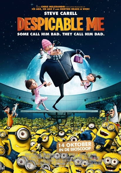 Despicable Me poster, © 2010 Universal Pictures International