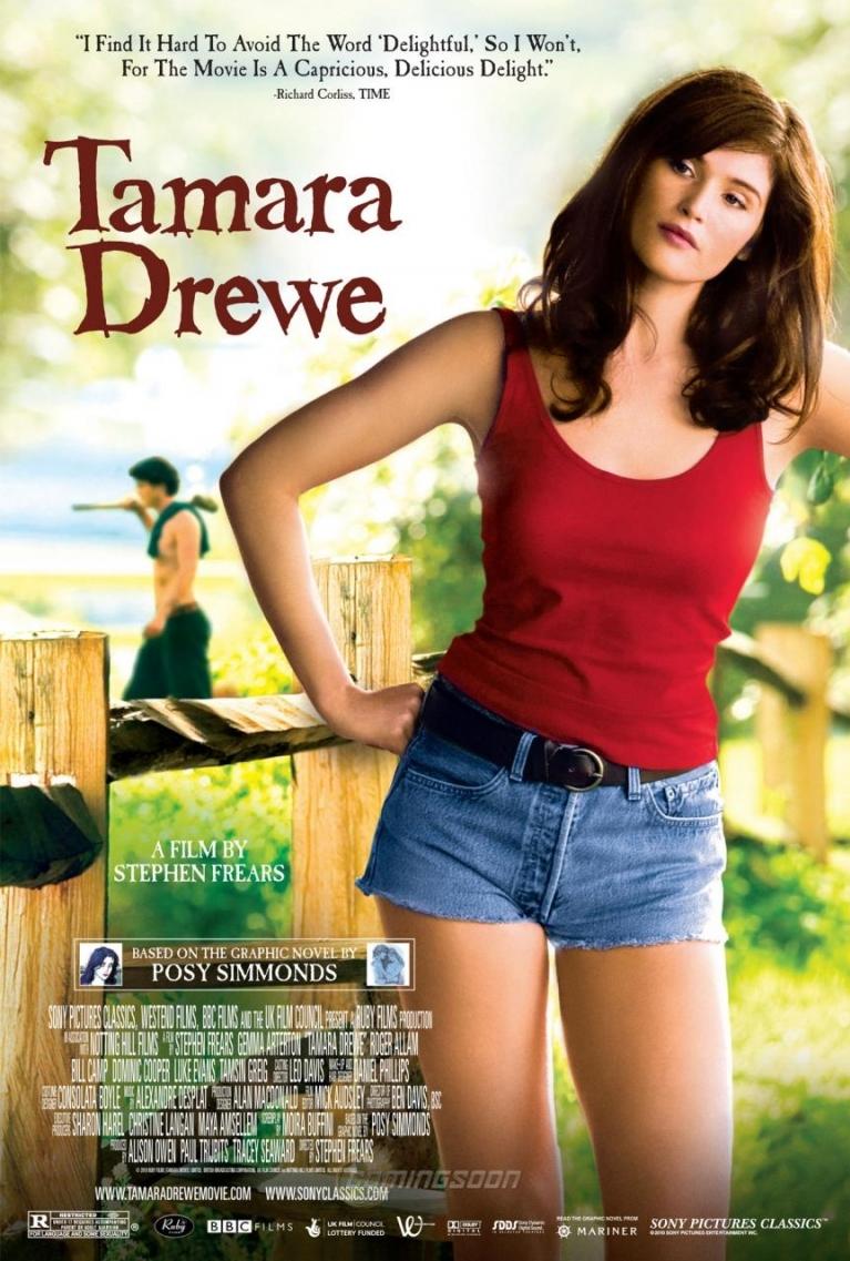 Tamara Drewe poster, © 2010 Cinéart