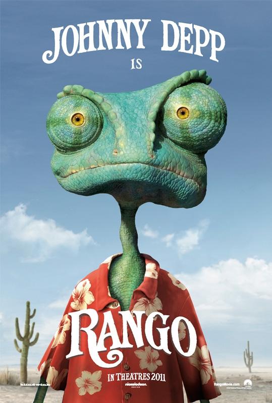 Rango poster, © 2011 Universal Pictures International