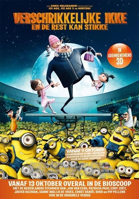 Verschrikkelijke Ikke (NL) poster, © 2010 Universal Pictures International