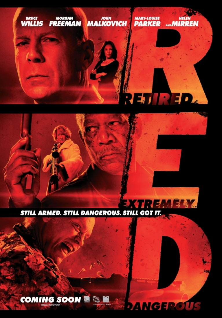 RED poster, © 2010 E1 Entertainment Benelux