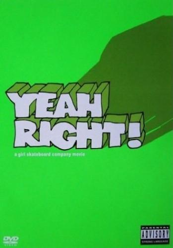 Yeah Right! poster, copyright in handen van productiestudio en/of distributeur