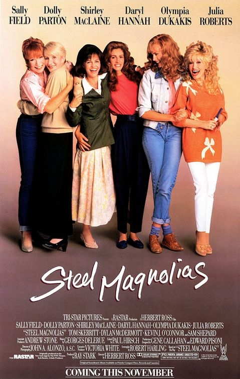 Steel Magnolias poster, copyright in handen van productiestudio en/of distributeur