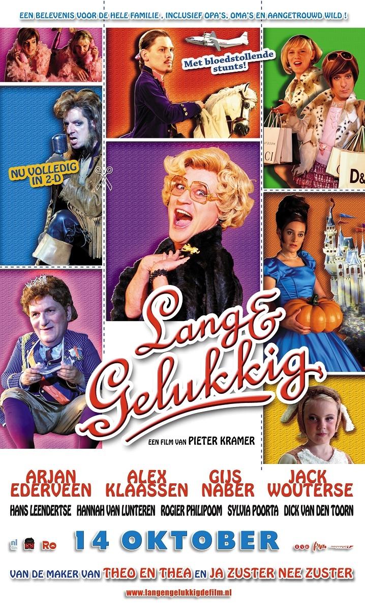 Lang & gelukkig poster, © 2009 Independent Films