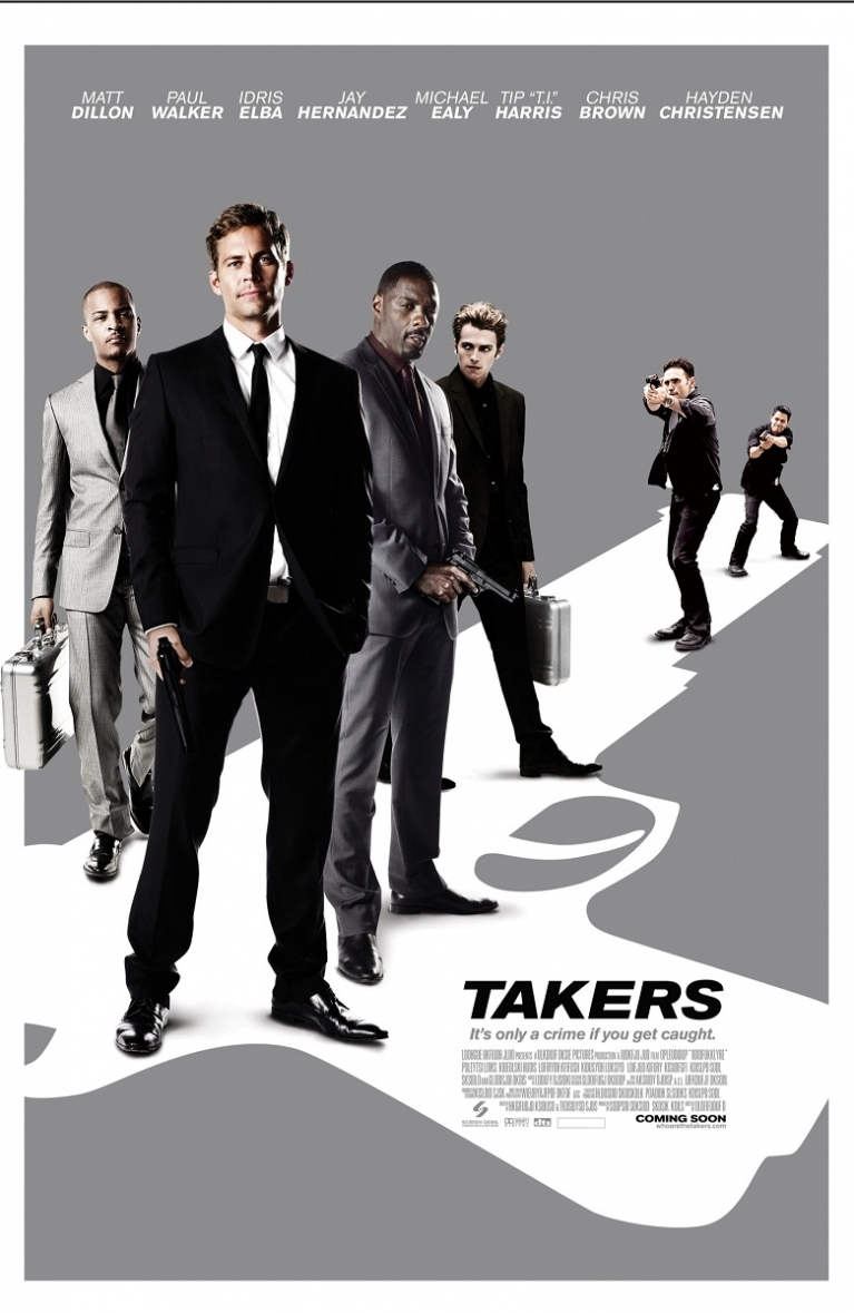 Takers poster, © 2010 Sony Pictures Releasing