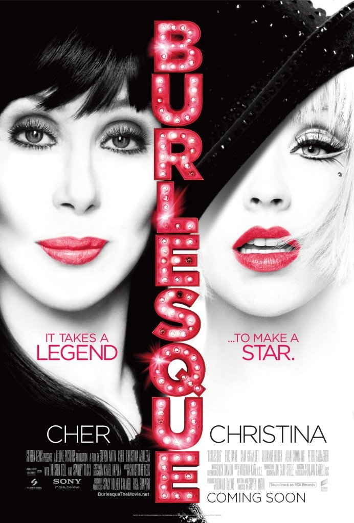 Burlesque poster, © 2010 Sony Pictures Releasing