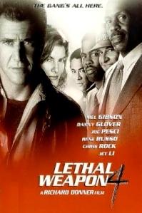 poster 'Lethal Weapon 4' © 1998 Warner Bros.