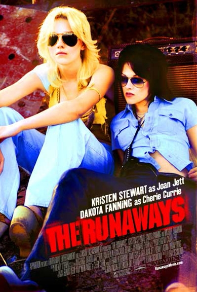 The Runaways poster, © 2010 Independent Films