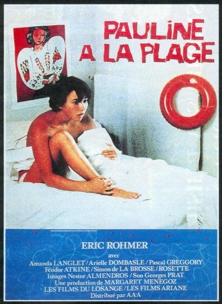 Pauline à la plage poster, copyright in handen van productiestudio en/of distributeur