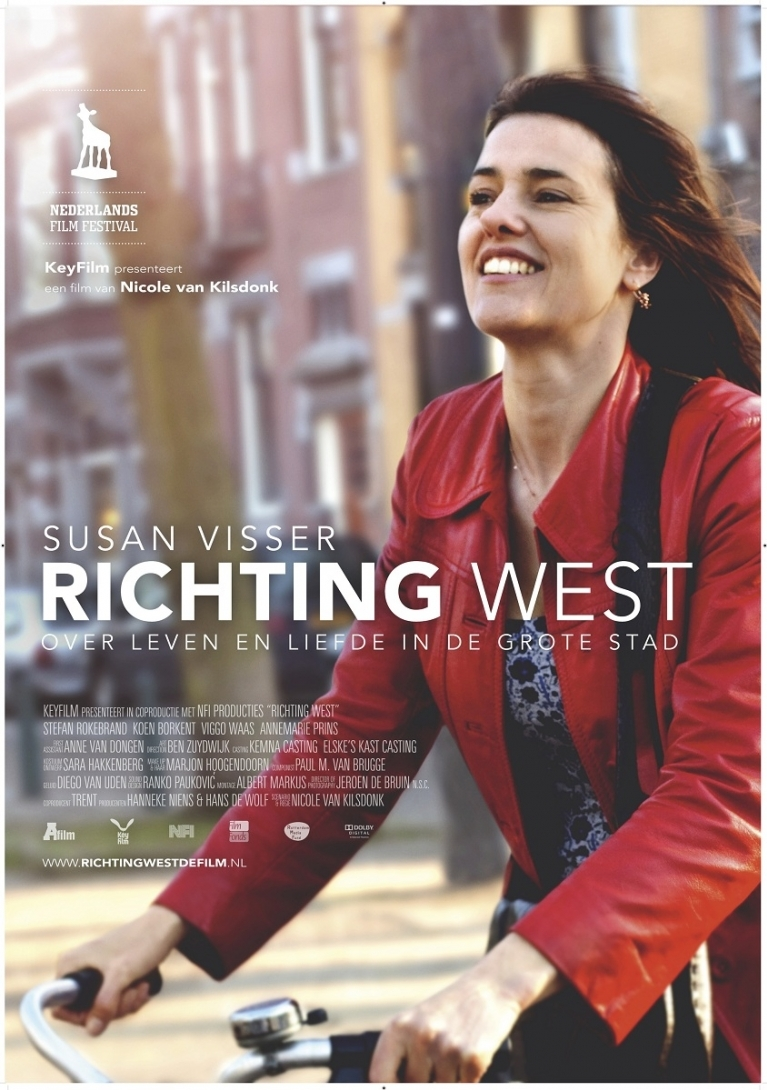 Richting west poster, © 2010 A-Film Quality Film