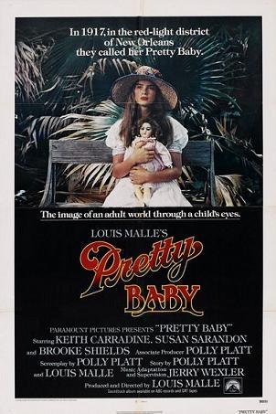Pretty Baby poster, copyright in handen van productiestudio en/of distributeur