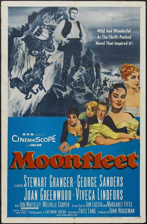 Moonfleet  poster, copyright in handen van productiestudio en/of distributeur