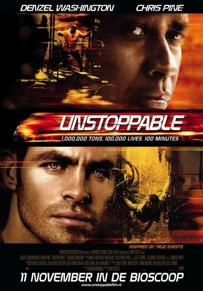 Unstoppable poster, © 2010 Warner Bros.