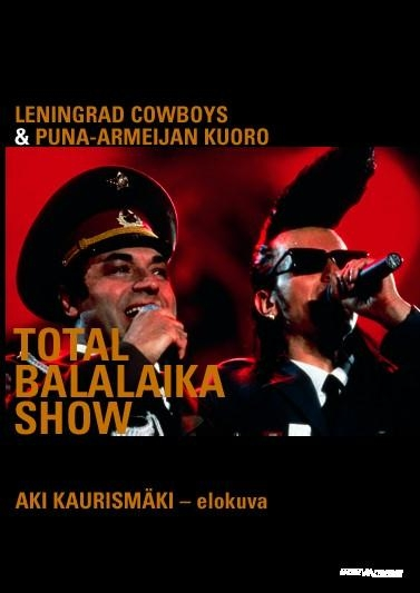 Total Balalaika Show poster, copyright in handen van productiestudio en/of distributeur