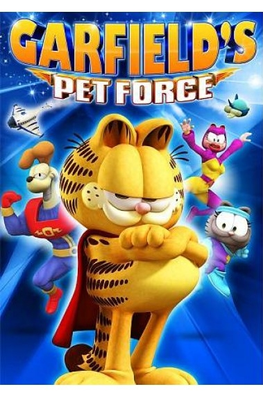 Garfield's Pet Force poster, copyright in handen van productiestudio en/of distributeur
