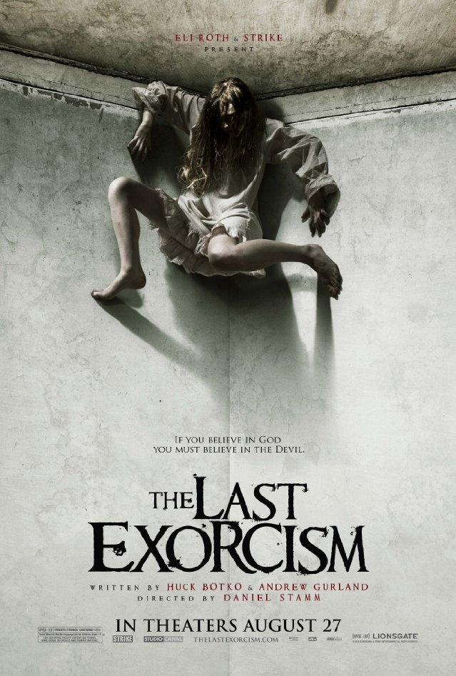 The Last Exorcism poster, © 2010 Cinéart
