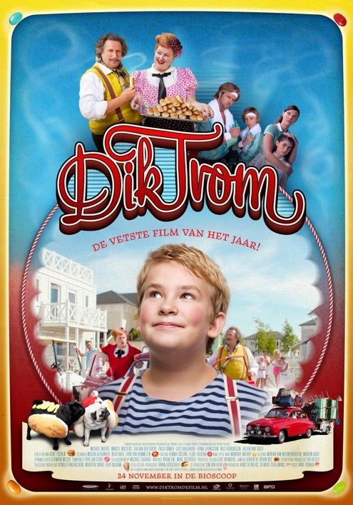Dik Trom poster, © 2010 Benelux Film Distributors