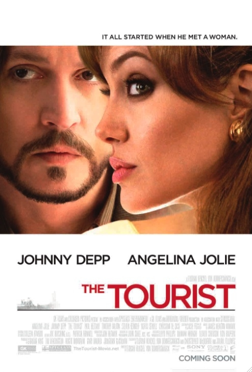The Tourist poster, © 2010 Sony Pictures Releasing
