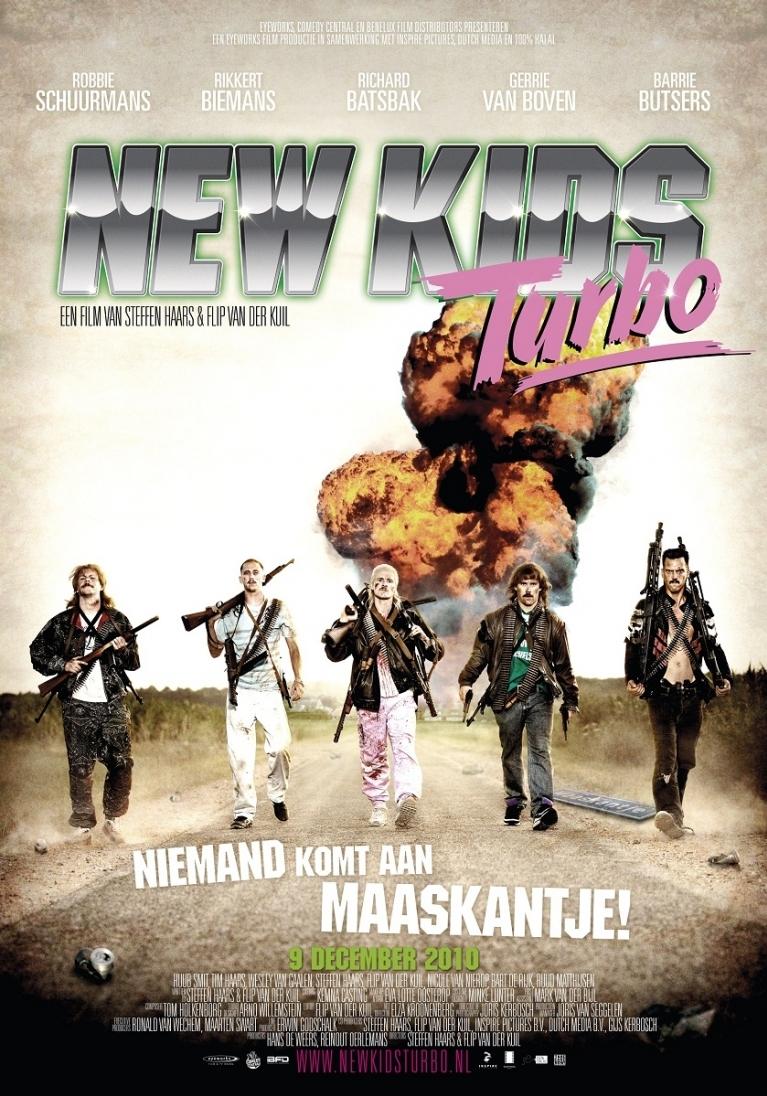 New Kids Turbo poster, © 2010 Benelux Film Distributors