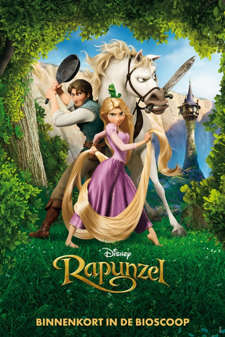Tangled poster, © 2010 Walt Disney Pictures