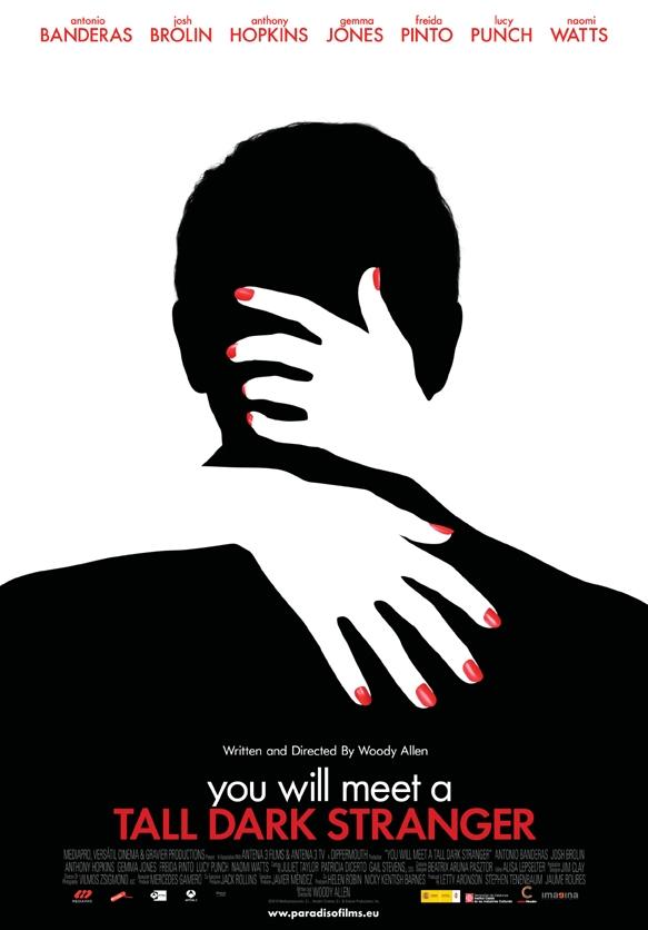 You Will Meet a Tall Dark Stranger poster, © 2010 Paradiso