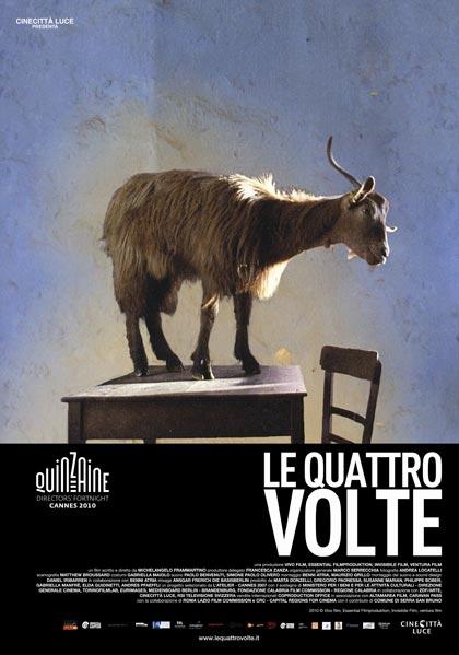 Le quattro volte poster, © 2010 Eye Film Instituut