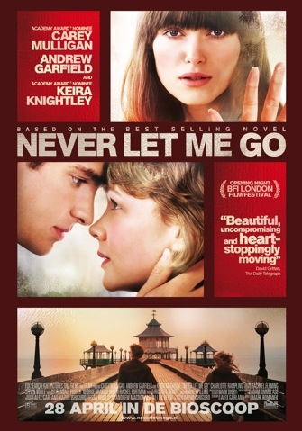 Never Let Me Go poster, © 2010 Warner Bros.