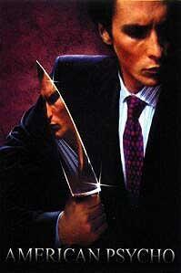 poster 'American Psycho' © 2000 Universal Studios