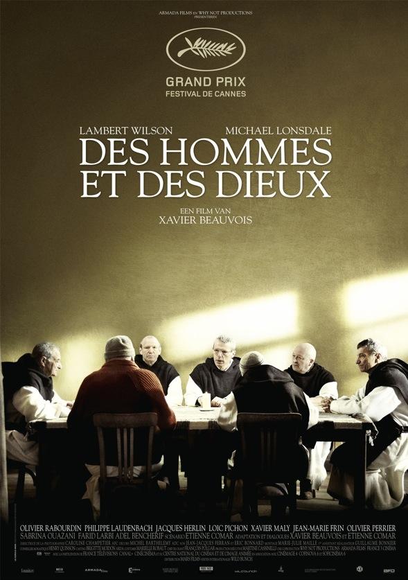 Des hommes et des dieux poster, © 2010 Benelux Film Distributors