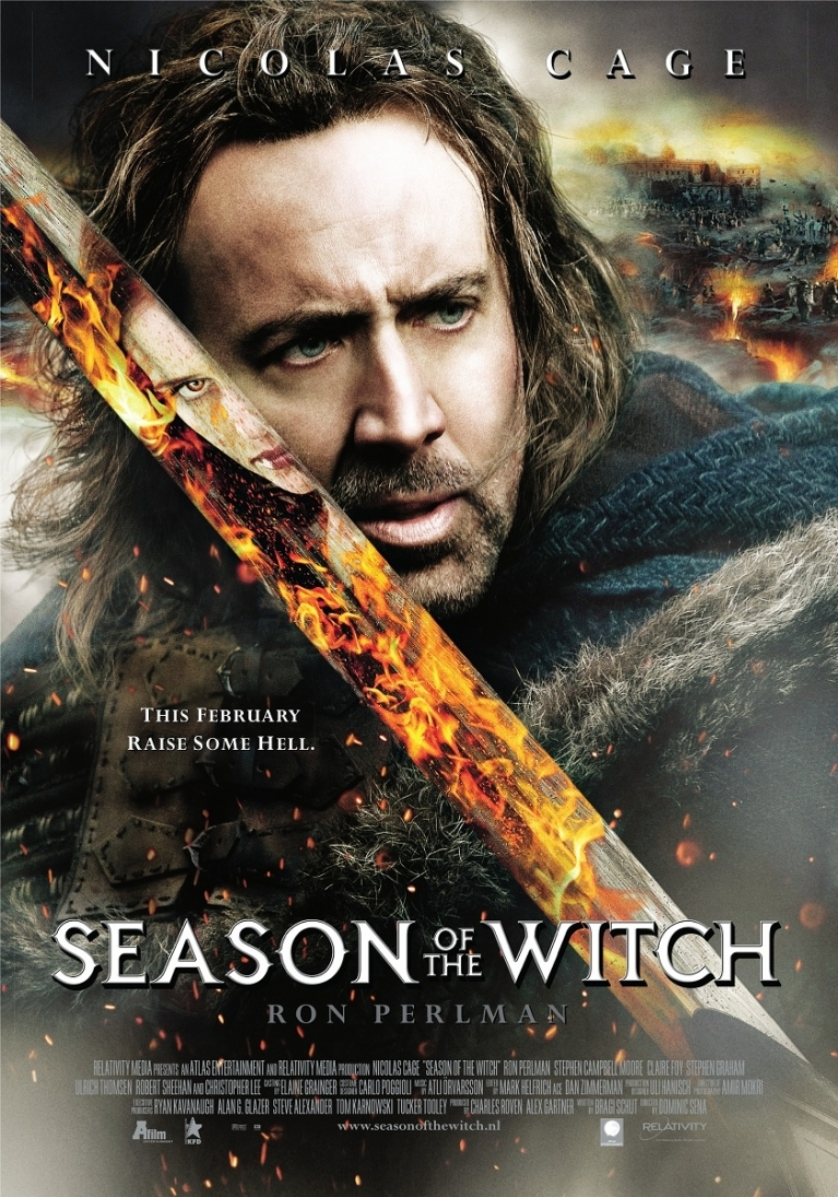Season of the Witch poster, © 2010 A-Film Distribution