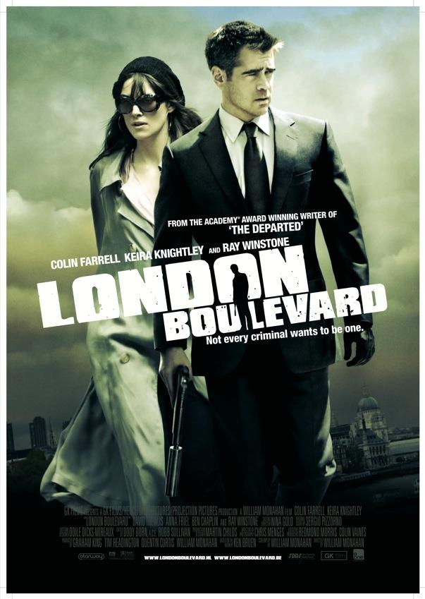 London Boulevard poster, © 2010 Benelux Film Distributors