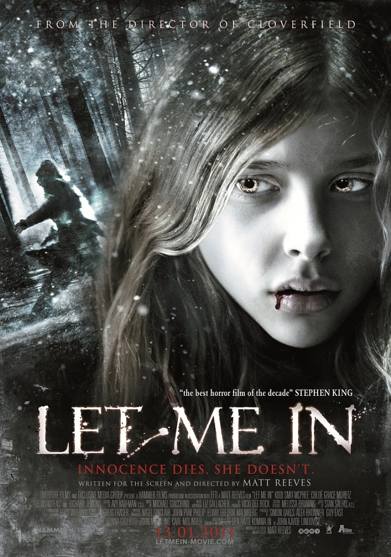 Let Me In poster, © 2010 A-Film Entertainment