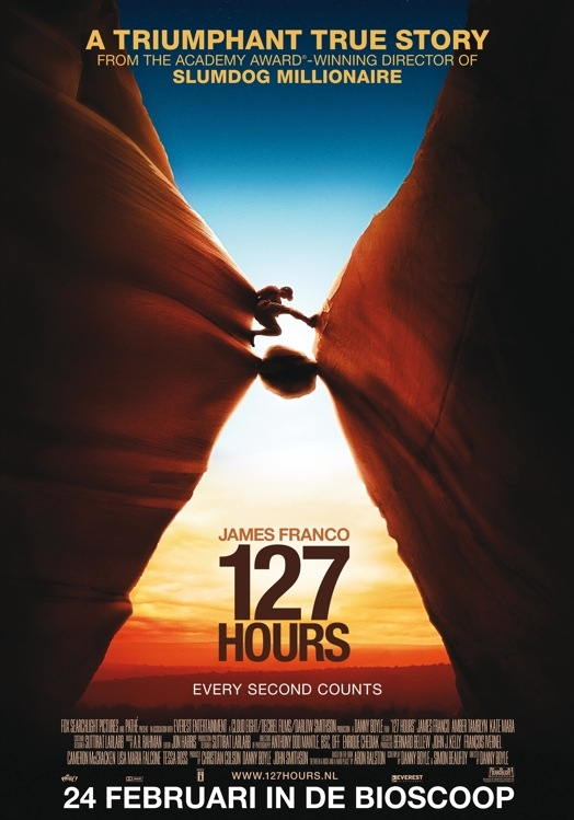 127 Hours poster, © 2010 20th Century Fox