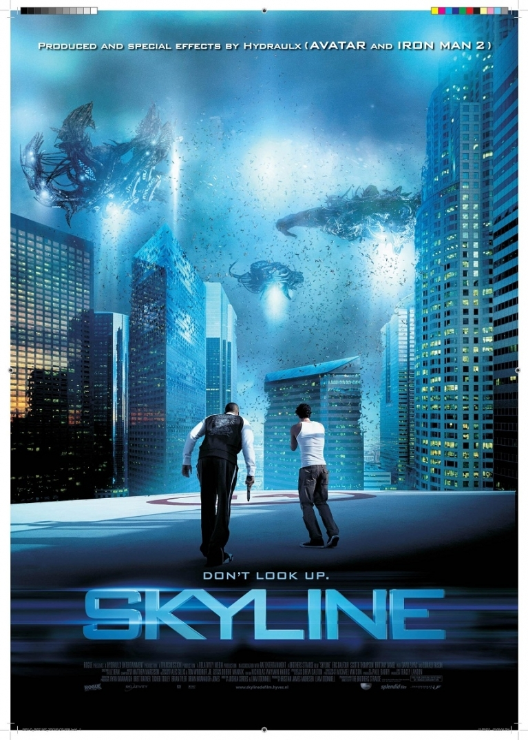 Skyline poster, © 2010 Independent Films