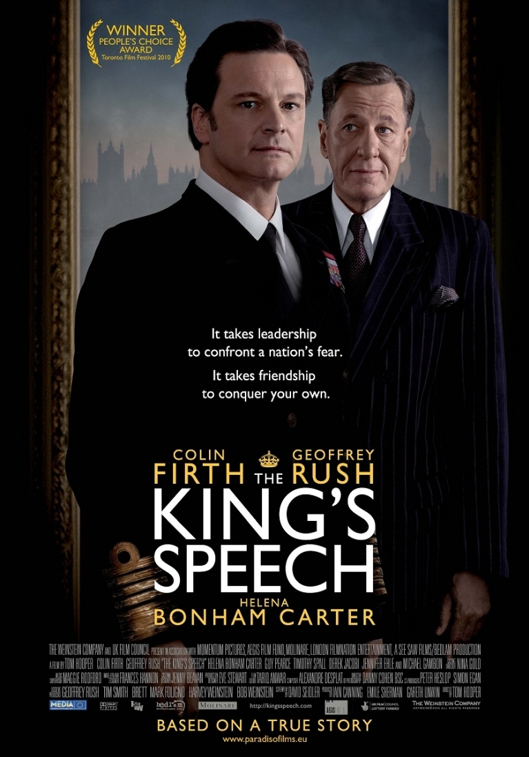 The King's Speech poster, © 2010 Paradiso