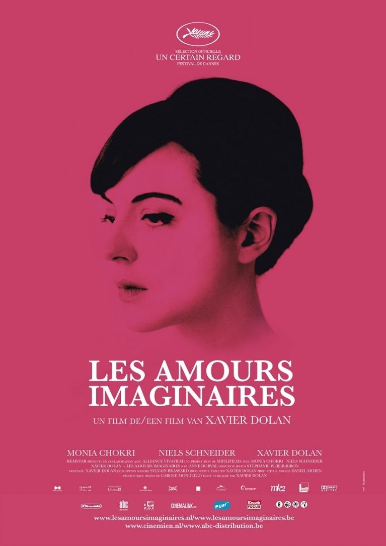 Les amours imaginaires poster, © 2010 Cinemien