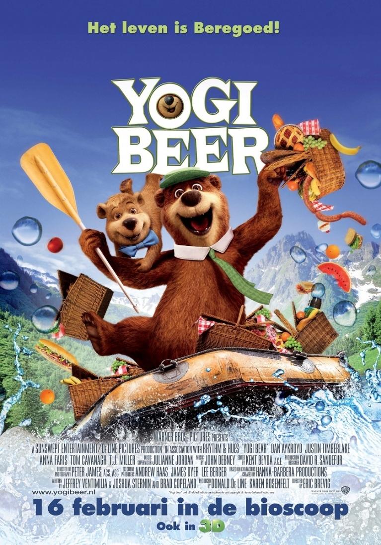 Yogi Bear poster, © 2010 Warner Bros.