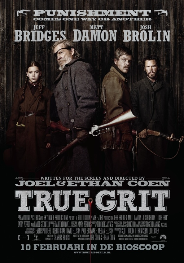 True Grit poster, © 2010 Universal Pictures International