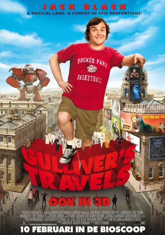 Gulliver's Travels poster, © 2010 20th Century Fox