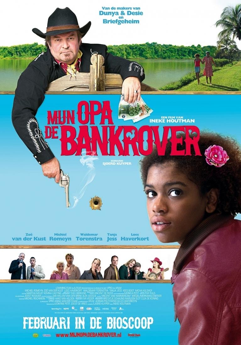 Mijn Opa de Bankrover poster, © 2010 A-Film Distribution