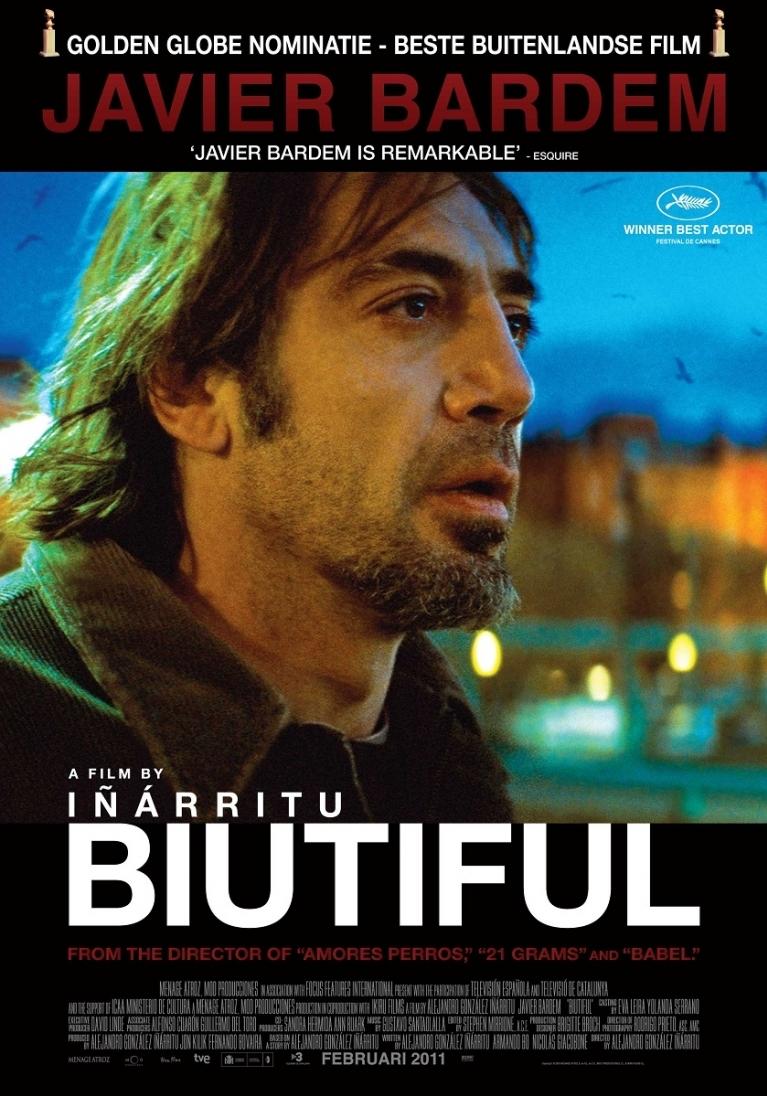 Biutiful poster, © 2010 A-Film Distribution