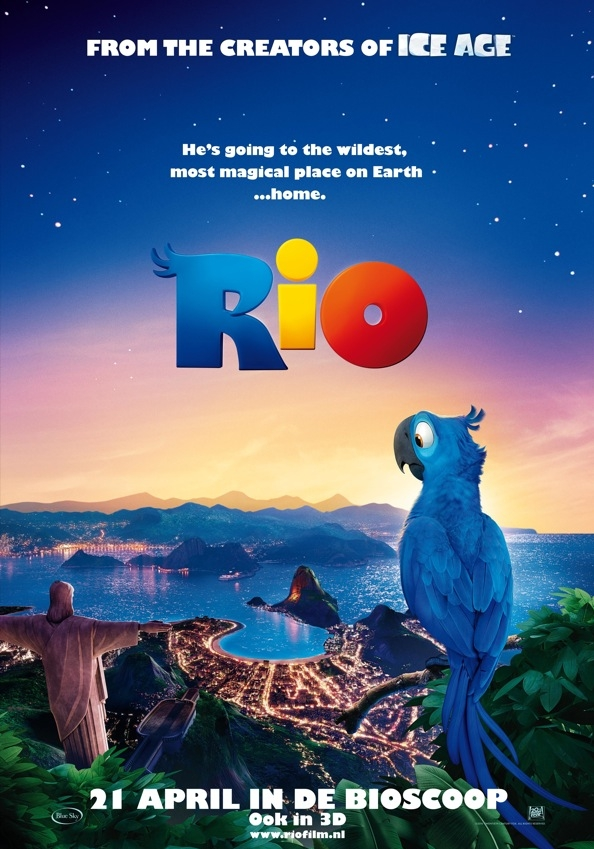 Rio poster, © 2011 20th Century Fox