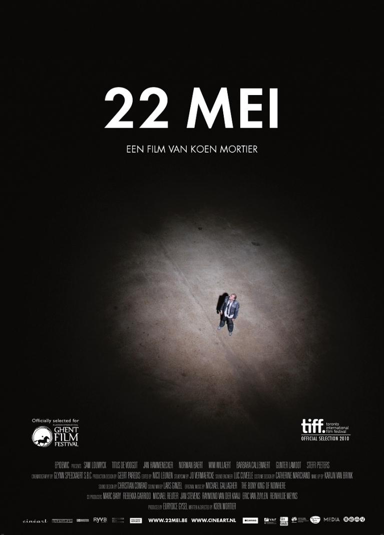 22 mei poster, © 2010 Cinéart